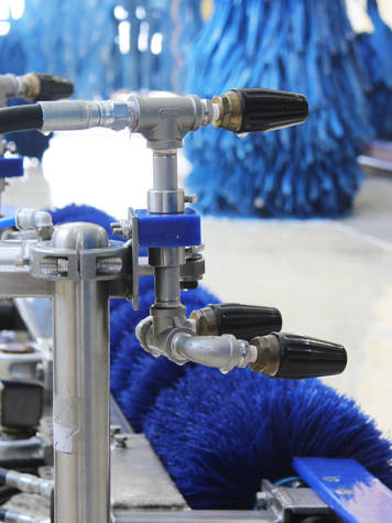 Spray Car Wash >> High-Pressure Arches/Blasters | AVW Equipment Company